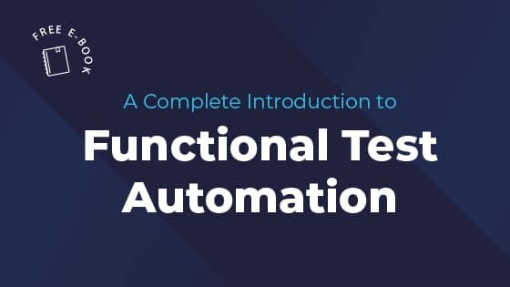 functional test automation ebook featured image