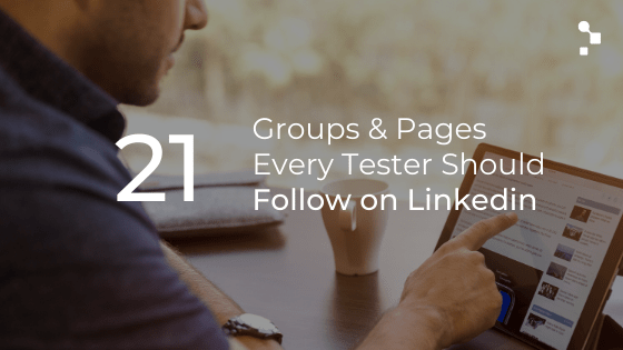 blog post featured image linkedin for testers