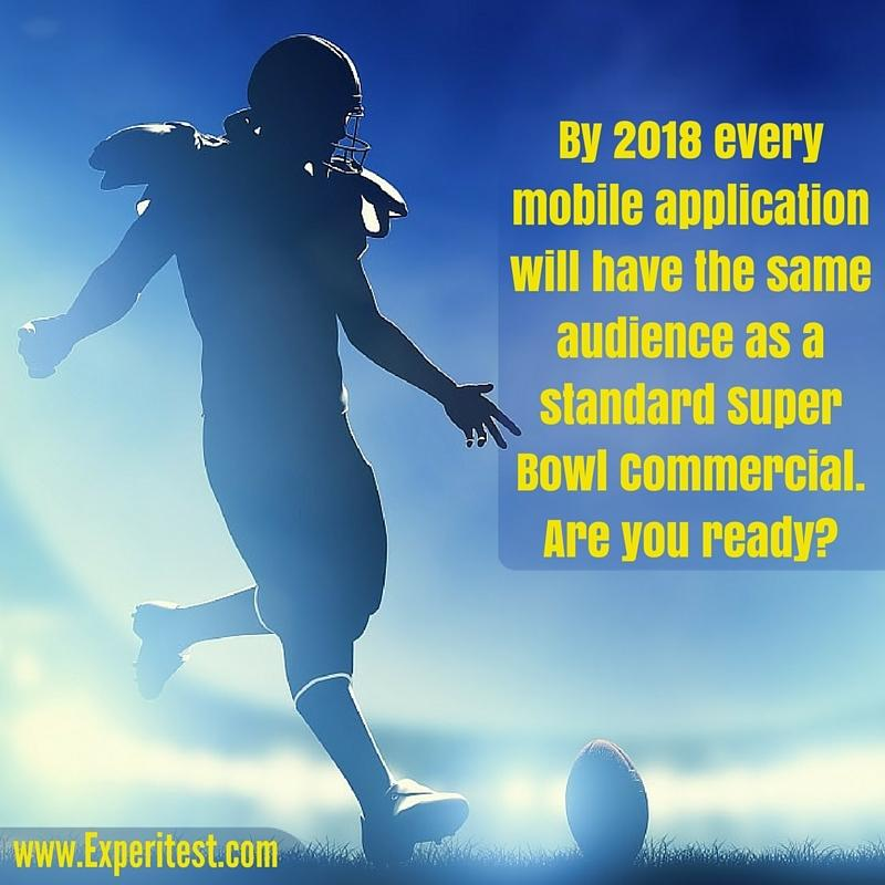 mobile application super bowl