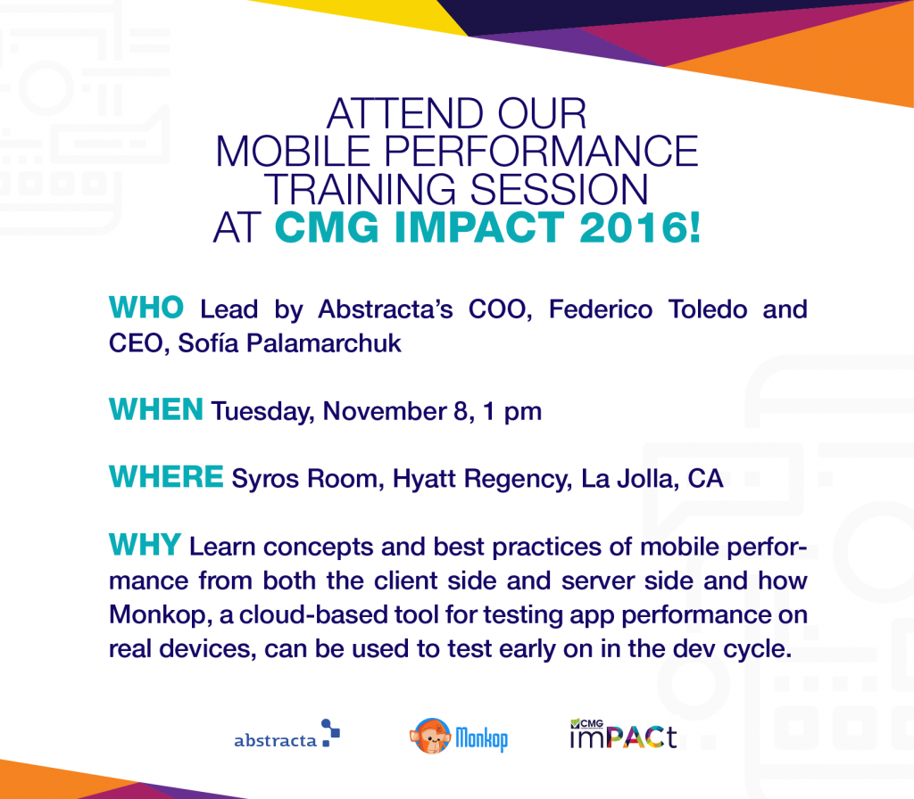 mobile performance training cmg impact conference