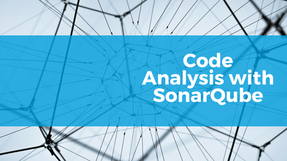 code analysis with sonarqube