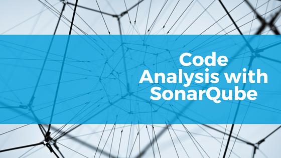 code analysis with sonarqube