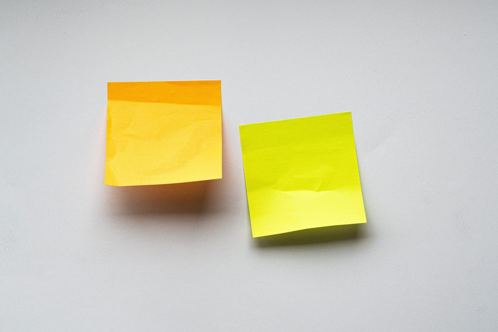 sticky notes picture