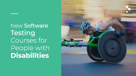 software tersting courses for people with disabilities