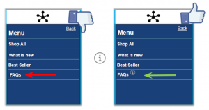 accessible mobile UI design example 4
