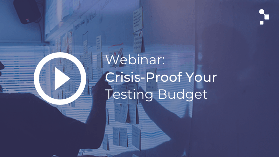 software testing budget webinar featured blog image