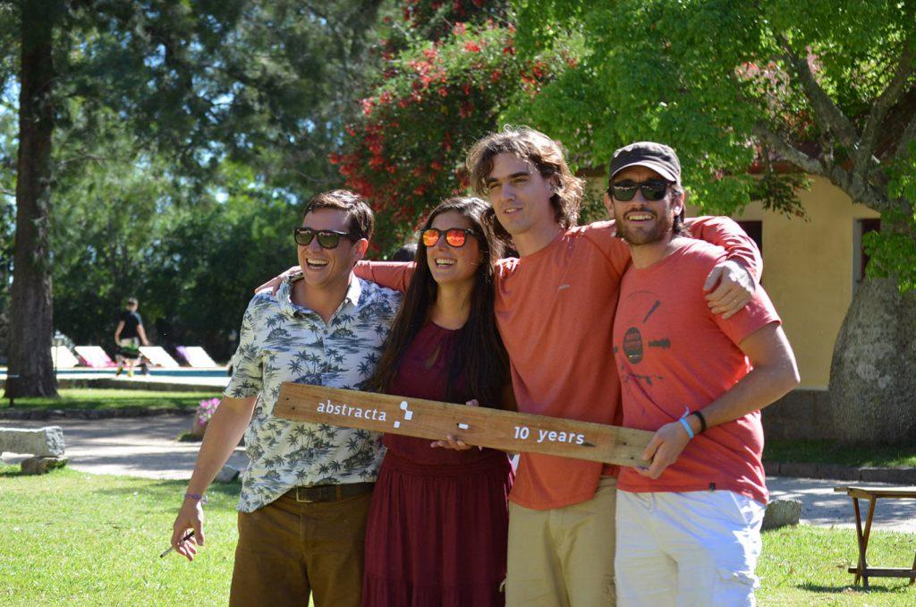 Photo of Fabian, Sofia, Matias, and Federico