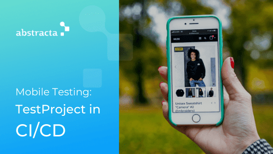 mobile testing with testproject image
